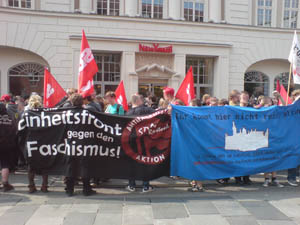 Antifaschistische Demonstration in Rostock